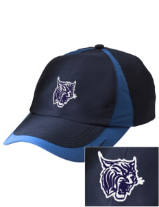 Holy Rosary Academy Wildcats Embroidered Nike Golf Colorblock Cap