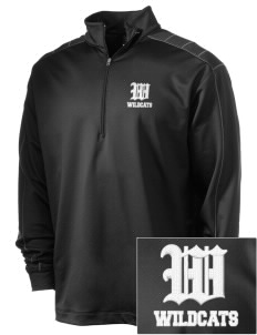 Holy Rosary Academy Wildcats Embroidered Nike Men's Golf Dri-Fit 1/2 Zip