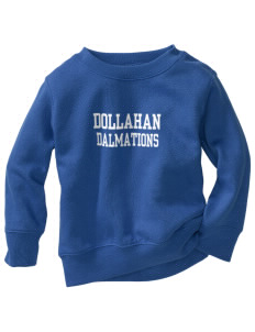 Dollahan Elementary School Dalmations Toddler Crewneck Sweatshirt