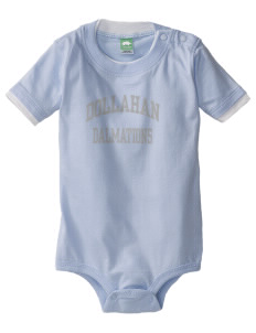 Dollahan Elementary School Dalmations Baby One-Piece with Shoulder Snaps