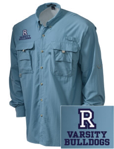 Redlands Adventist Academy Bulldogs Embroidered Men's Explorer Shirt with Pockets