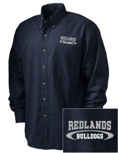 Redlands Adventist Academy Bulldogs Embroidered Men's Twill Shirt