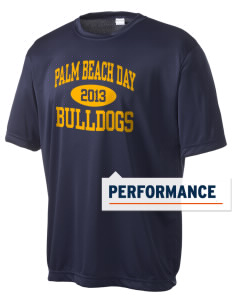 Palm Beach Day Academy Bulldogs Men's Competitor Performance T-Shirt