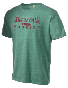 Jean Hayman Elementary School Huskies Alternative Men's Eco Heather T-shirt