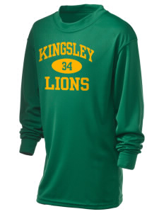 Kingsley Elementary School Lions Holloway Kid's Performance Spark Long Sleeve T-Shirt