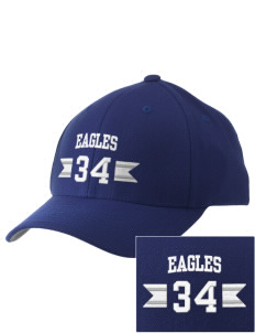 Calvary Christian School Eagles Embroidered Pro Model Fitted Cap
