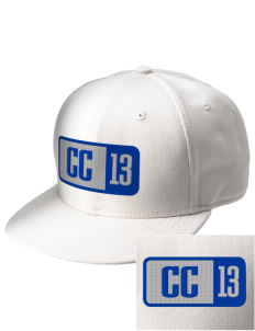 Calvary Christian School Eagles  Embroidered New Era Flat Bill Snapback Cap