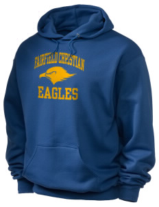 Fairfield Christian School Eagles Holloway Men's 50/50 Hooded Sweatshirt