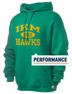 IKM Middle School Hawks Russell Men's Dri-Power Hooded Sweatshirt