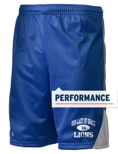 "Our Lady Of Grace School Lions Holloway Men's Possession Performance Shorts, 9"" Inseam"