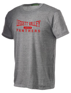 Leggett Valley School Panthers Alternative Men's Eco Heather T-shirt