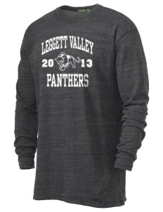 Leggett Valley School Panthers Alternative Men's 4.4 oz. Long-Sleeve T-Shirt