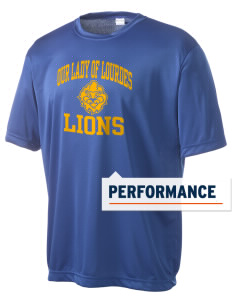 Our Lady Of Lourdes School Lions Men's Competitor Performance T-Shirt