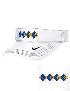Our Lady Of Lourdes School Lions Embroidered Nike Golf Dri-Fit Swoosh Visor