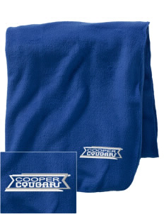 Cooper Elementary School Cougars Embroidered Holloway Stadium Fleece Blanket
