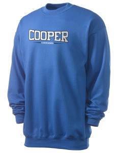 Cooper Elementary School Cougars Men's 7.8 oz Lightweight Crewneck Sweatshirt