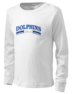 Freshwater Elementary School Dolphins  Kid's Long Sleeve T-Shirt