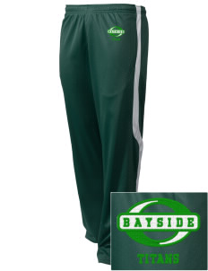 Bayside Community Day School Trojans Embroidered Holloway Men's Tricotex Warm Up Pants