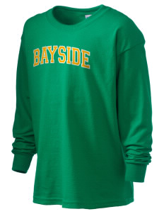 Bayside Community Day School Trojans Kid's 6.1 oz Long Sleeve Ultra Cotton T-Shirt