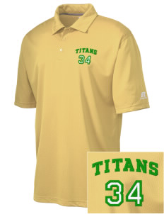 Bayside Community Day School Trojans Embroidered Russell Coaches Core Polo Shirt