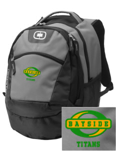 Bayside Community Day School Trojans Embroidered OGIO Rogue Backpack