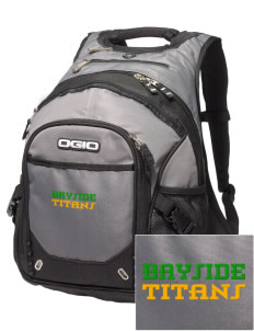 Bayside Community Day School Trojans Embroidered OGIO Fugitive Backpack