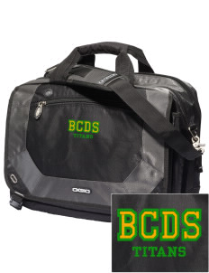 Bayside Community Day School Trojans Embroidered OGIO Corporate City Corp Messenger Bag
