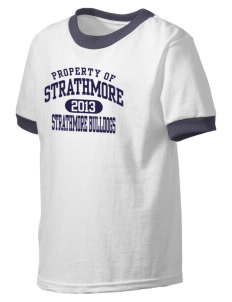 Strathmore Middle School Strathmore Bulldogs Kid's Ringer T-Shirt