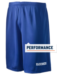 "Ridgemoor Elementary School Roadrunners Holloway Men's Speed Shorts, 9"" Inseam"