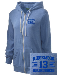 Ridgemoor Elementary School Roadrunners Embroidered Alternative Unisex The Rocky Eco-Fleece Hooded Sweatshirt