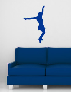 "Ridgemoor Elementary School Roadrunners Wall Silhouette Decal 20"" x 32"""