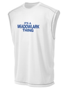 Meadowlark Elementary School Meadowlarks Champion Men's 4.1 oz Double Dry Odor Resistance Muscle T-Shirt