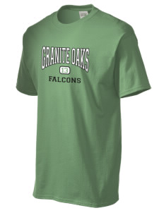 Granite Oaks Middle School Falcons Men's Essential T-Shirt