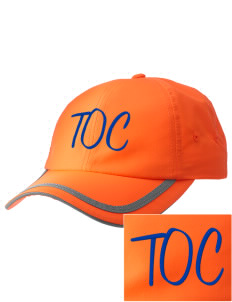 Truth Or Consequences Elementary School Tigers  Embroidered Safety Cap