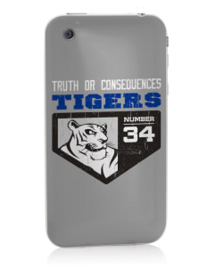 Truth Or Consequences Elementary School Tigers Apple iPhone 3G/ 3GS Skin