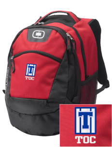 Truth Or Consequences Elementary School Tigers Embroidered OGIO Rogue Backpack