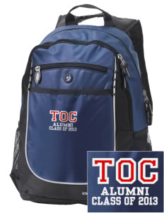 Truth Or Consequences Elementary School Tigers Embroidered OGIO Carbon Backpack