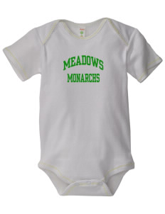 Meadows Elementary School Monarchs Baby Zig-Zag Creeper