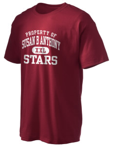 Susan B Anthony Elementary School Stars Hanes Men's 6 oz Tagless T-shirt