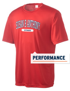 Susan B Anthony Elementary School Stars Men's Competitor Performance T-Shirt