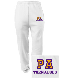 Purvis Attendance Center tornadoes Embroidered Men's Sweatpants with Pockets