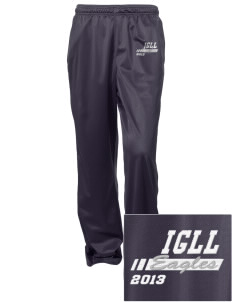 Iowa Great Lakes Lutheran School Eagles Embroidered Women's Tricot Track Pants