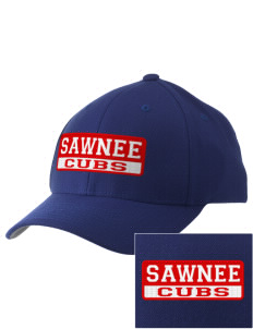 Sawnee Primary School Cubs Embroidered Pro Model Fitted Cap