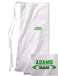 Adams Elementary School Eagles Embroidered Full Bistro Bib Apron