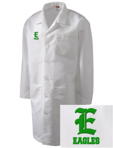Adams Elementary School Eagles Full-Length Lab Coat