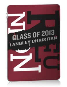 Langley Christian School Eagles Apple iPad Skin