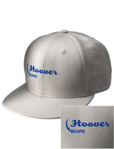 Hoover Elementary School Bears  Embroidered New Era Flat Bill Snapback Cap