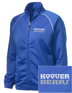 Hoover Elementary School Bears Embroidered Holloway Women's Attitude Warmup Jacket