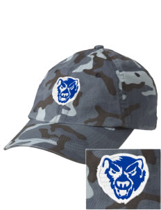 Hoover Elementary School Bears Embroidered Camouflage Cotton Cap