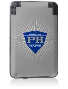 Pleasant Hill Middle School Rams Kindle Keyboard 3G Skin